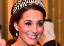 Kate Middleton trono