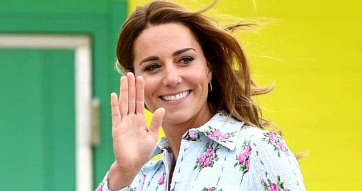 Kate Middleton abito floreale