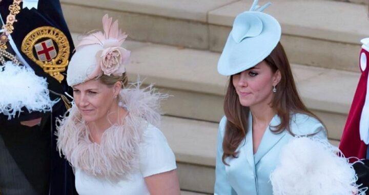 Kate Middleton e la Contessa Sophie di Wessex