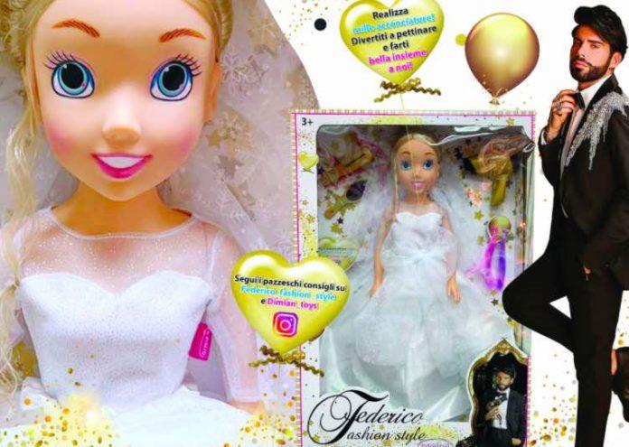 Bambola da sposa di Federico