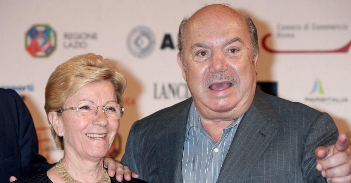 Lino Banfi e Lucia Zagaria