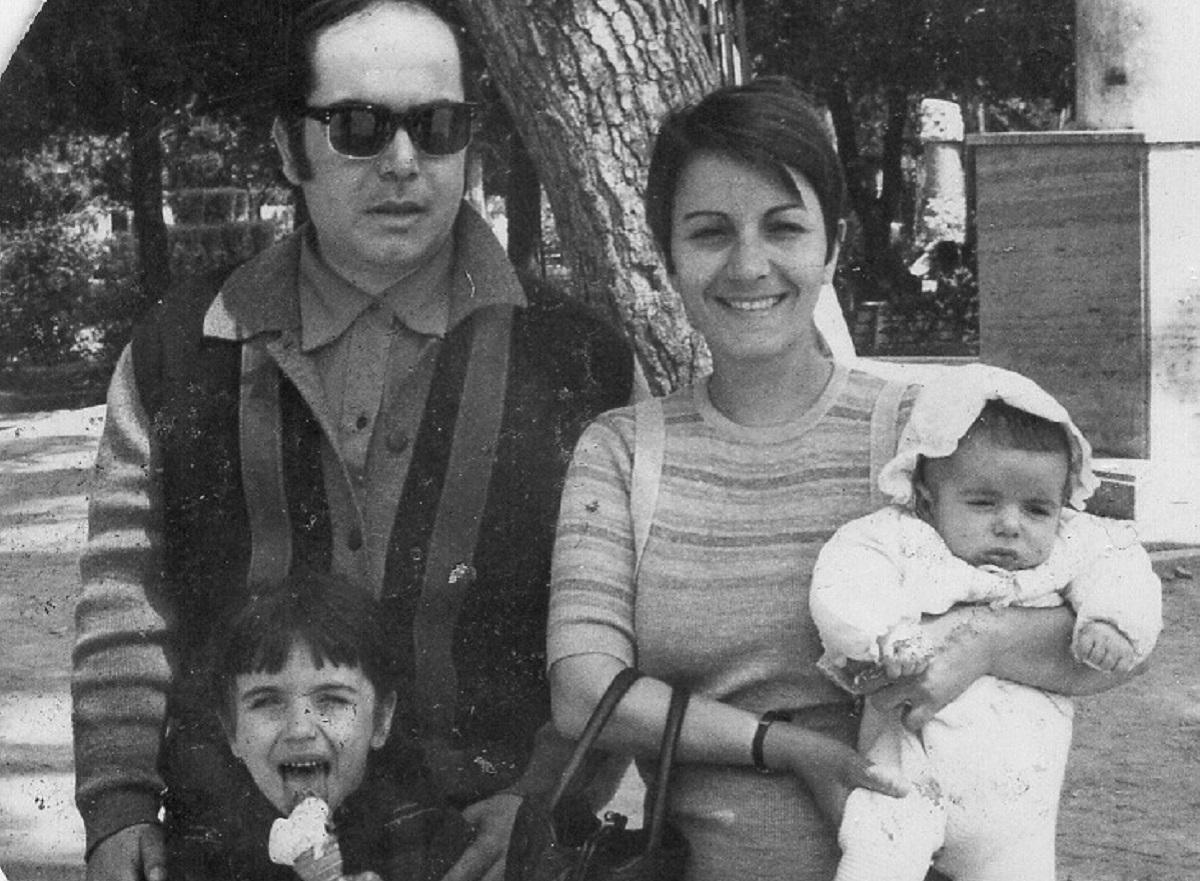 Lino Banfi e la sua famiglia