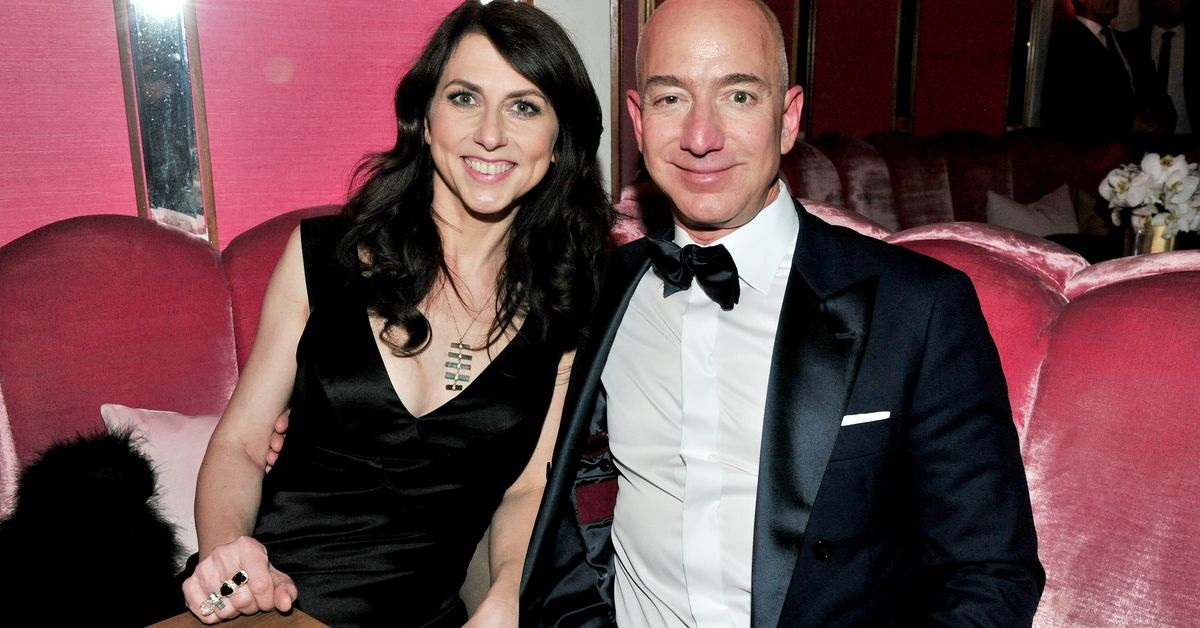 Jeff Bezos e l'ex moglie