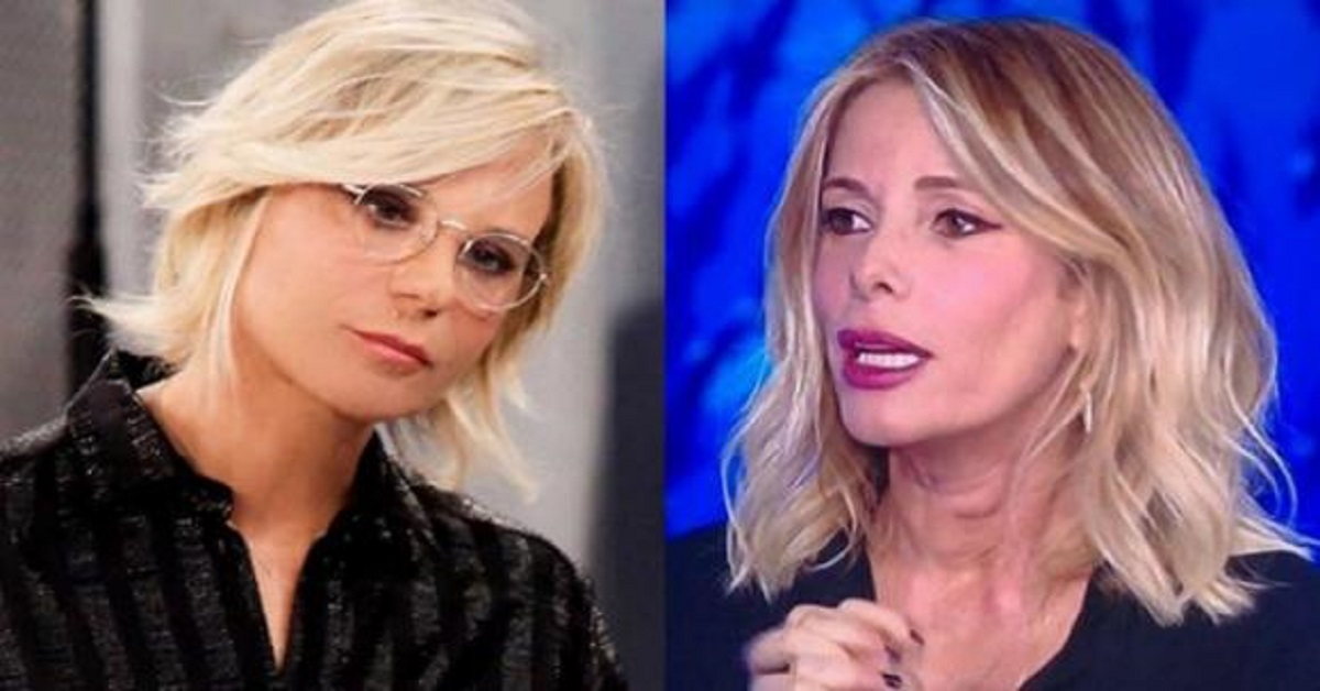 Maria De Filippi rimprovera Alessia Marcuzzi per il suo look