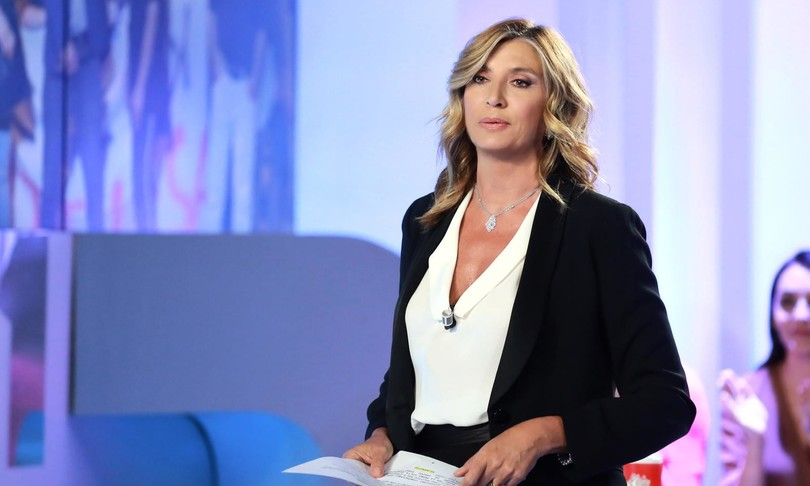 La conduttrice tv Myrta Merlino