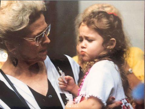 Miley Cyrus e la nonna