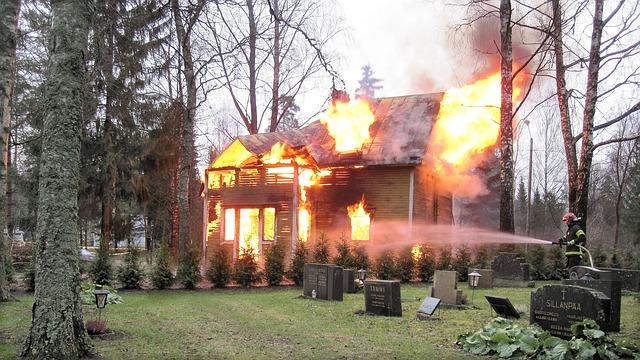 La casa in fiamme