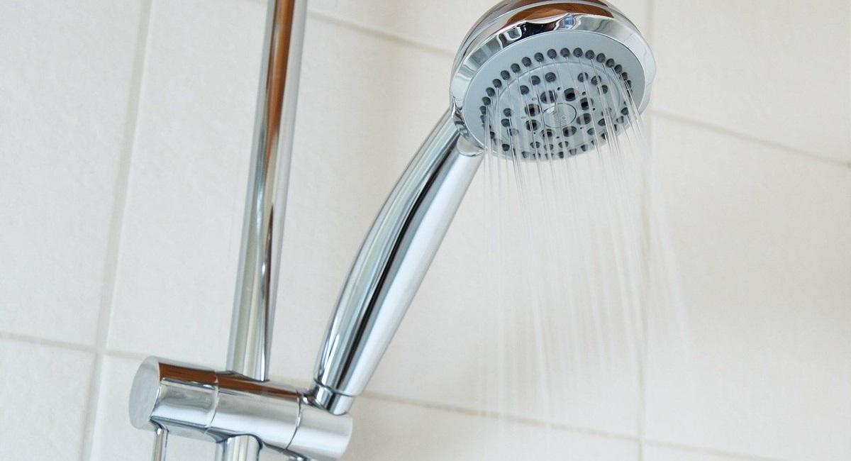 pulire il doccino