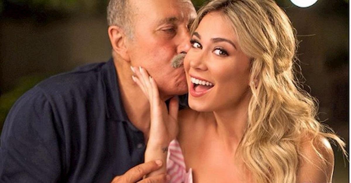Diletta Leotta e il padre