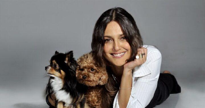 Rosita Celentano e i suoi cani
