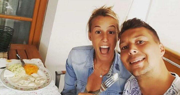 Tania Cagnotto e Stefano Parolin