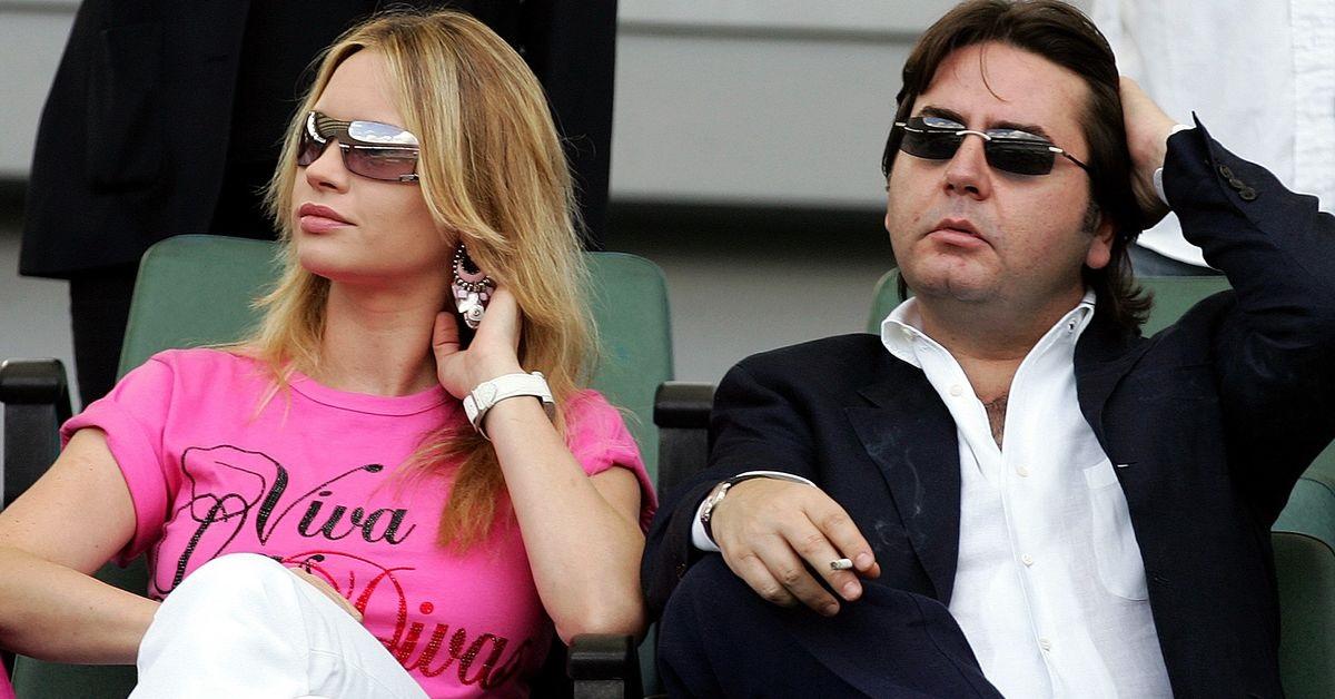 Anna Falchi e l'ex marito