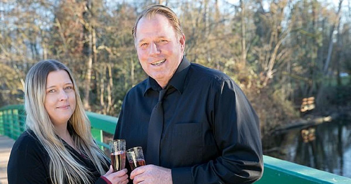 Darlene Blount e il compagno