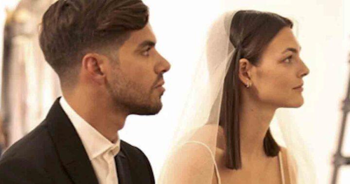 Vittoria Ceretti sposa