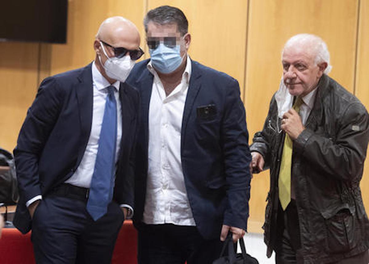 Antonio Ciontoli  tribunale