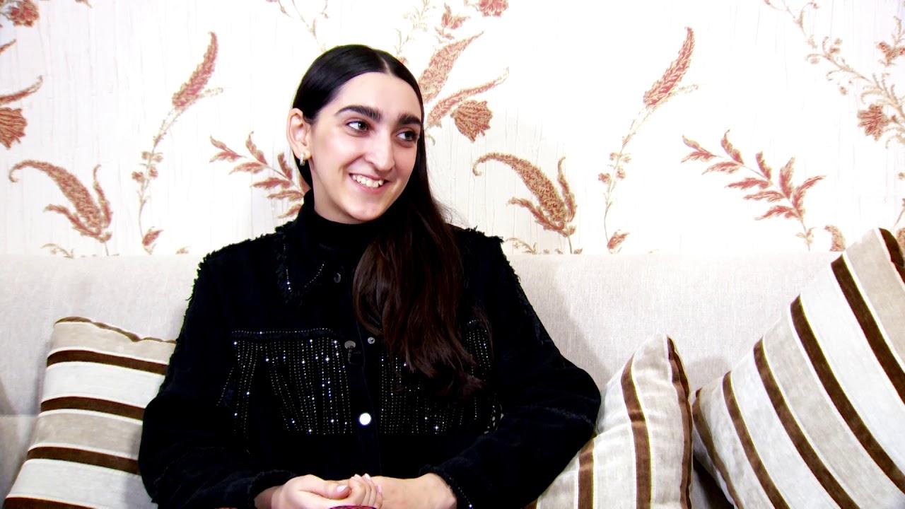 Modella di Gucci Armine Harutyunyan