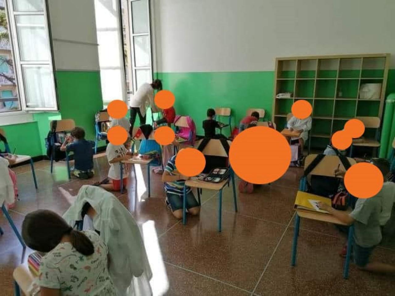 Giovanni Toti contro la Azzolina