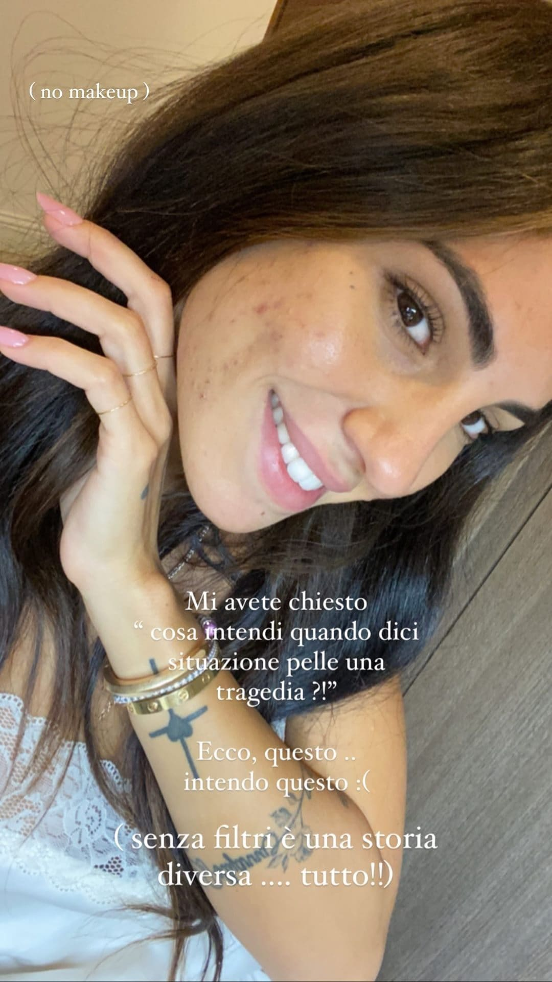 acne Giulia de lellis