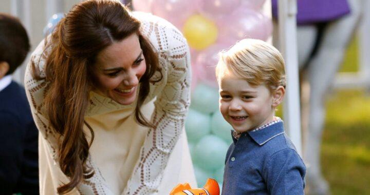 Kate Middleton George