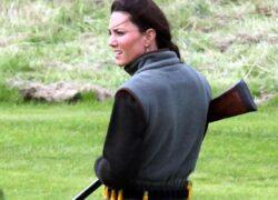 Kate Middleton caccia