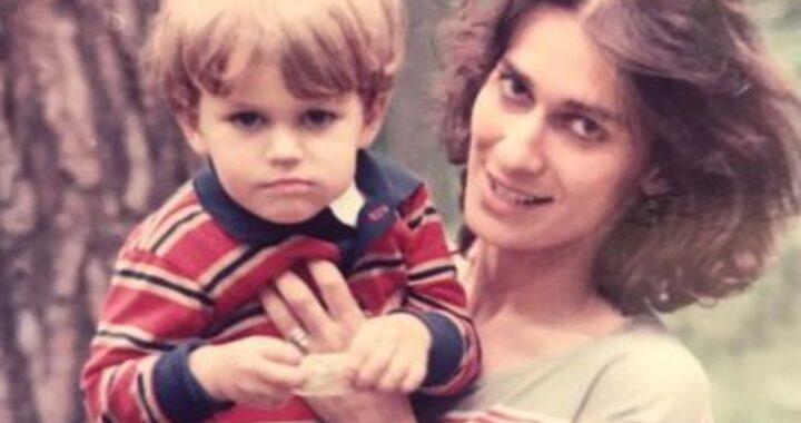 Paul Wesley e la foto da bambino