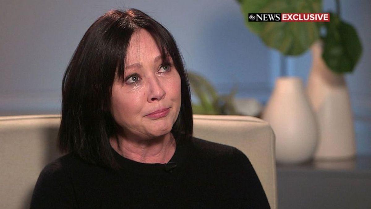 Shannen Doherty lacrime