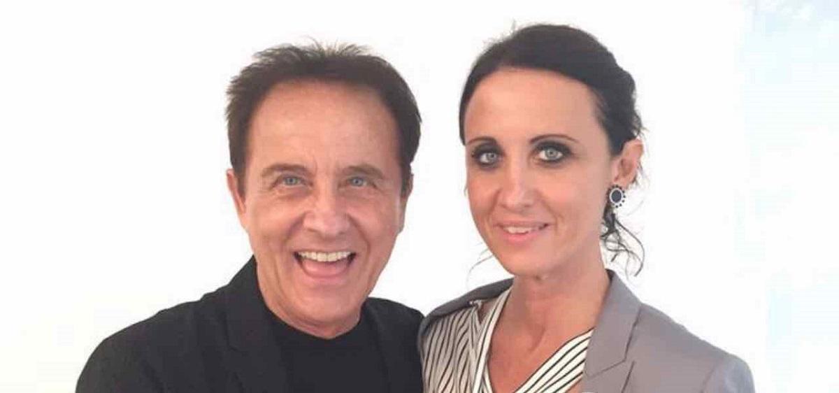 Alessandra Facchinetti e il padre