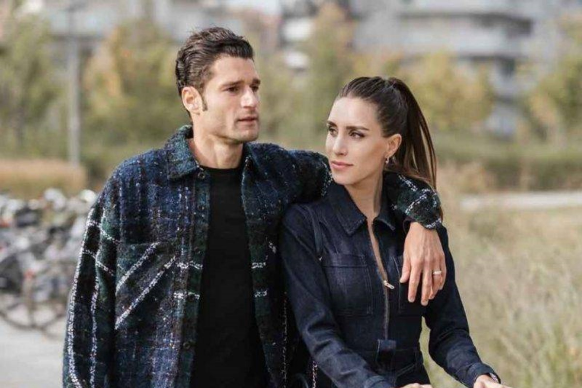 Antonio Candreva e la fidanzata