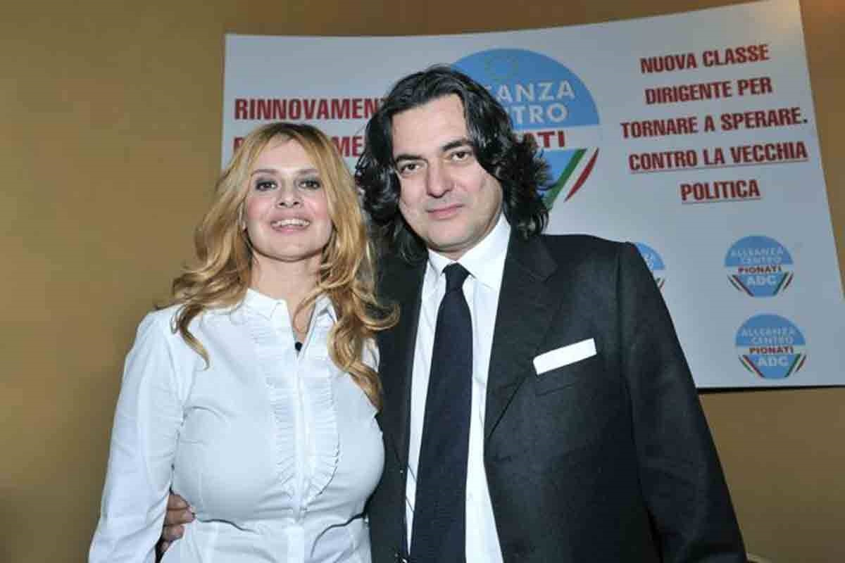 Debora Caprioglio e Angelo Maresca
