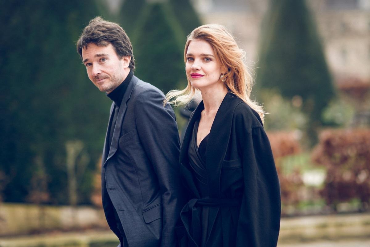 Natalia Vodianova e il marito