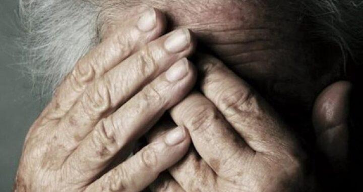 Anziano che viveva in condizioni terribili