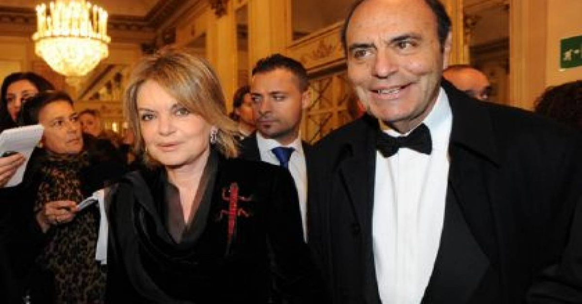 Augusta Iannini e Bruno Vespa