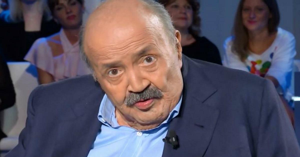 Belen Rodriguez difesa da Maurizio Costanzo