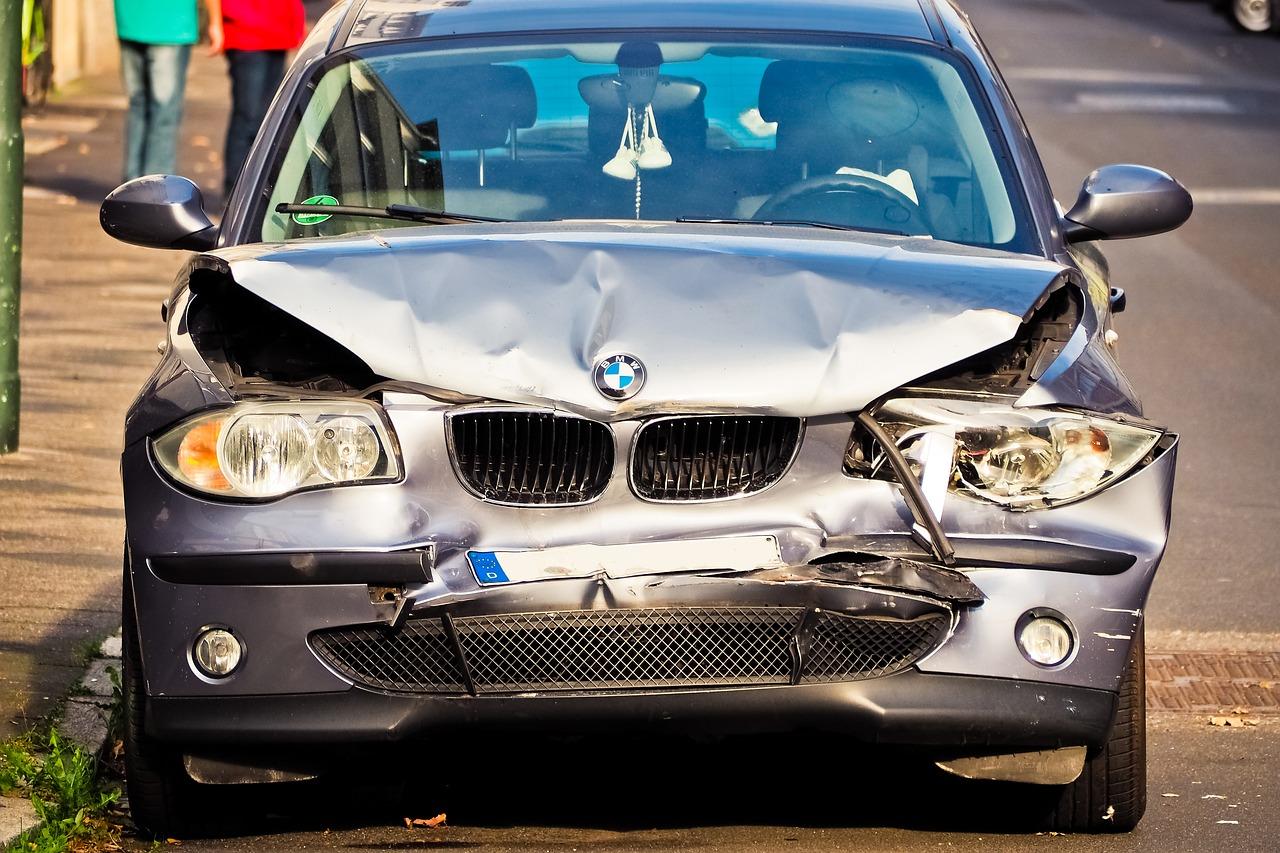 Macchina coinvolto in un incidente