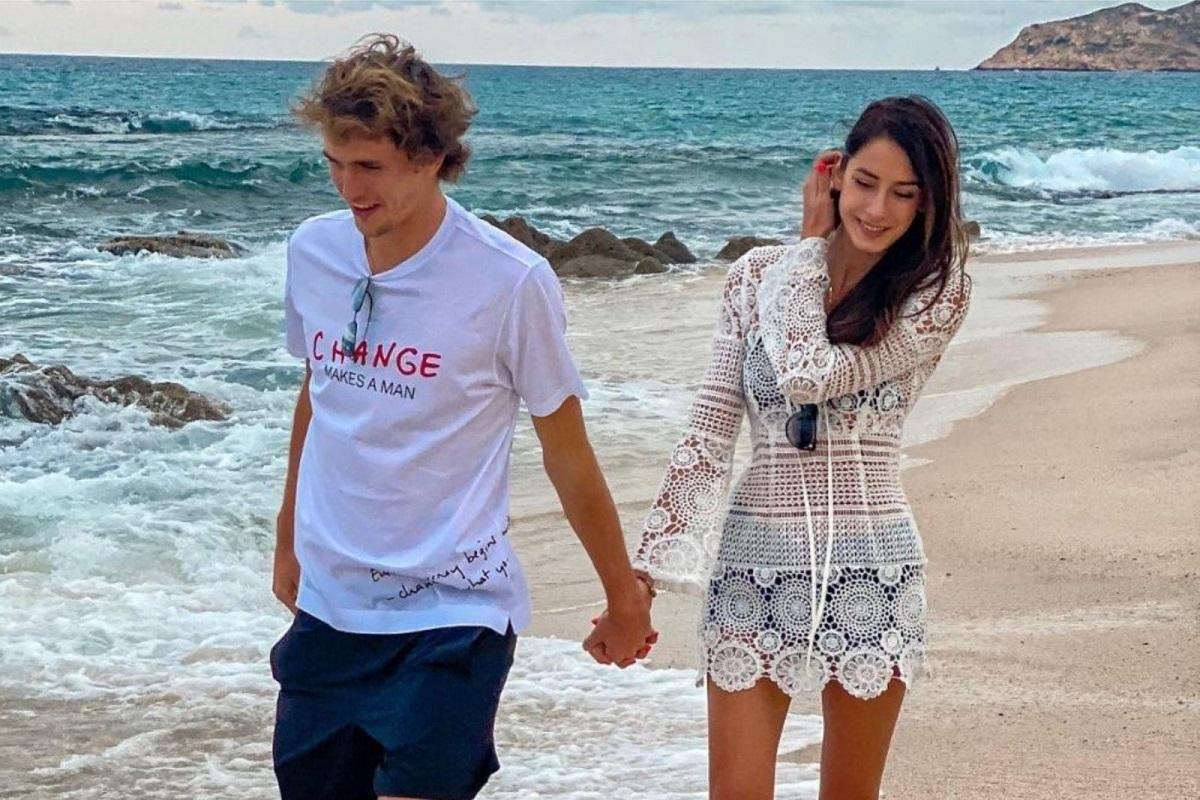 Alexander Zverev e l'ex fidanzata