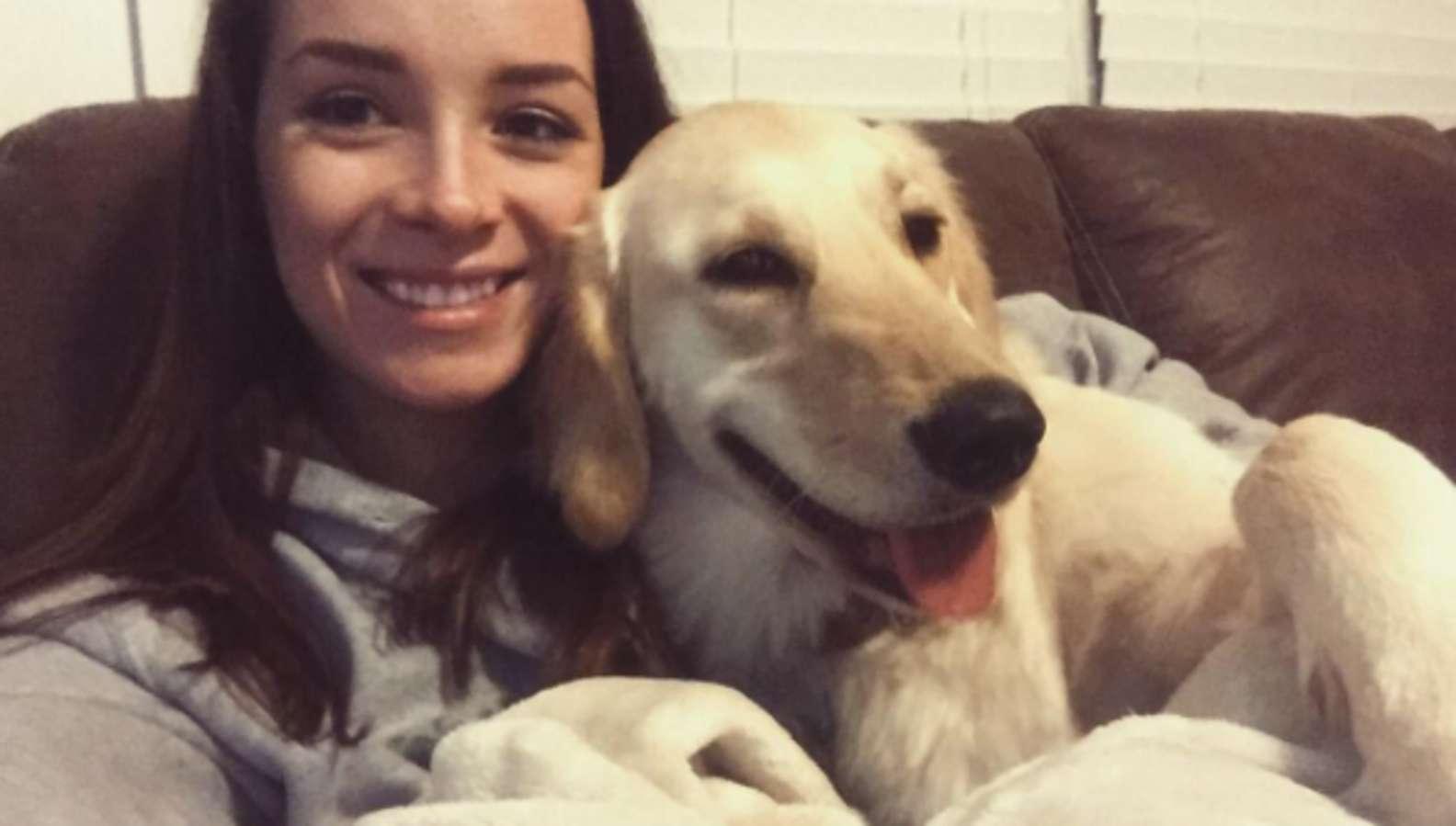La felicità del cucciolo adottato