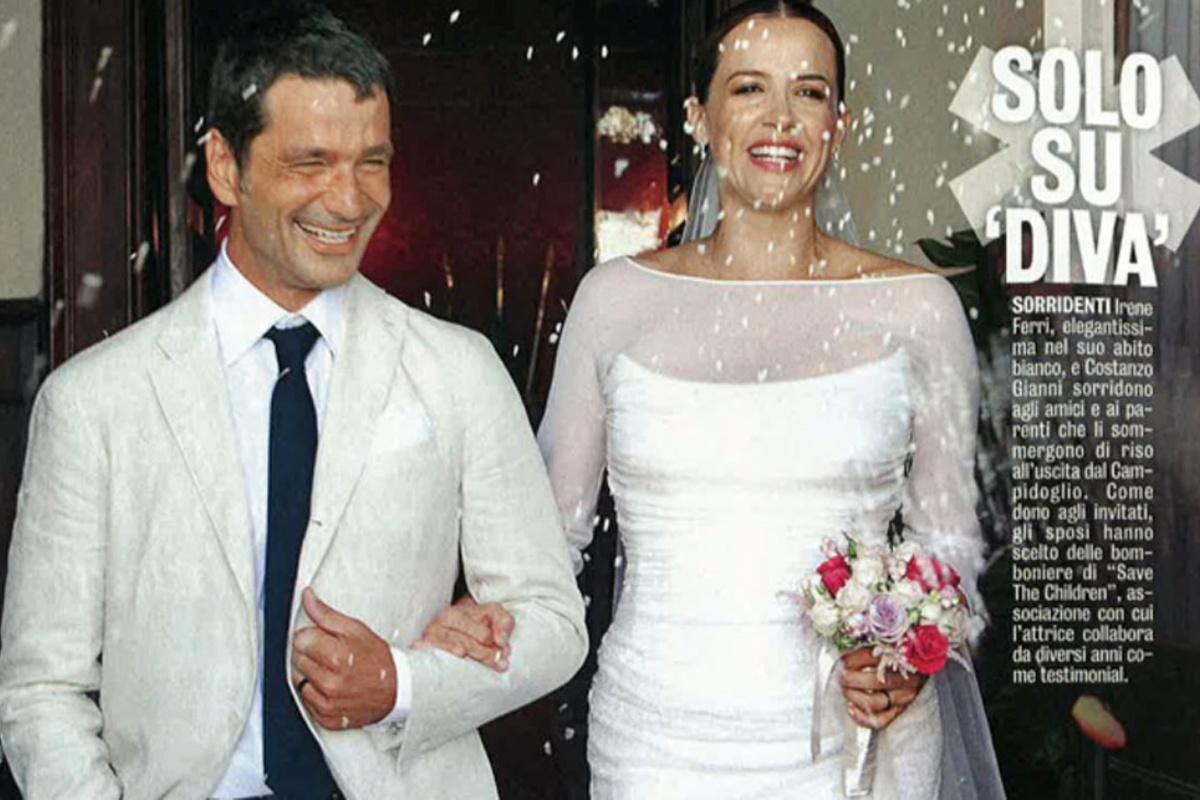 Costanzo Gianni e Irene Ferri