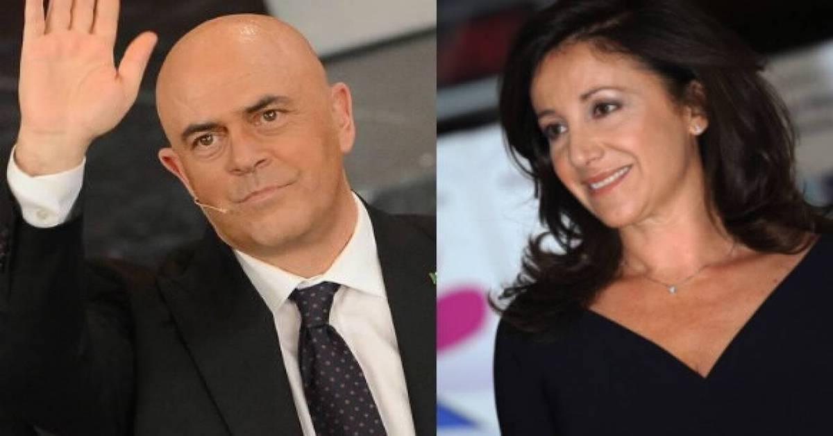 Carla Signoris e Maurizio Crozza