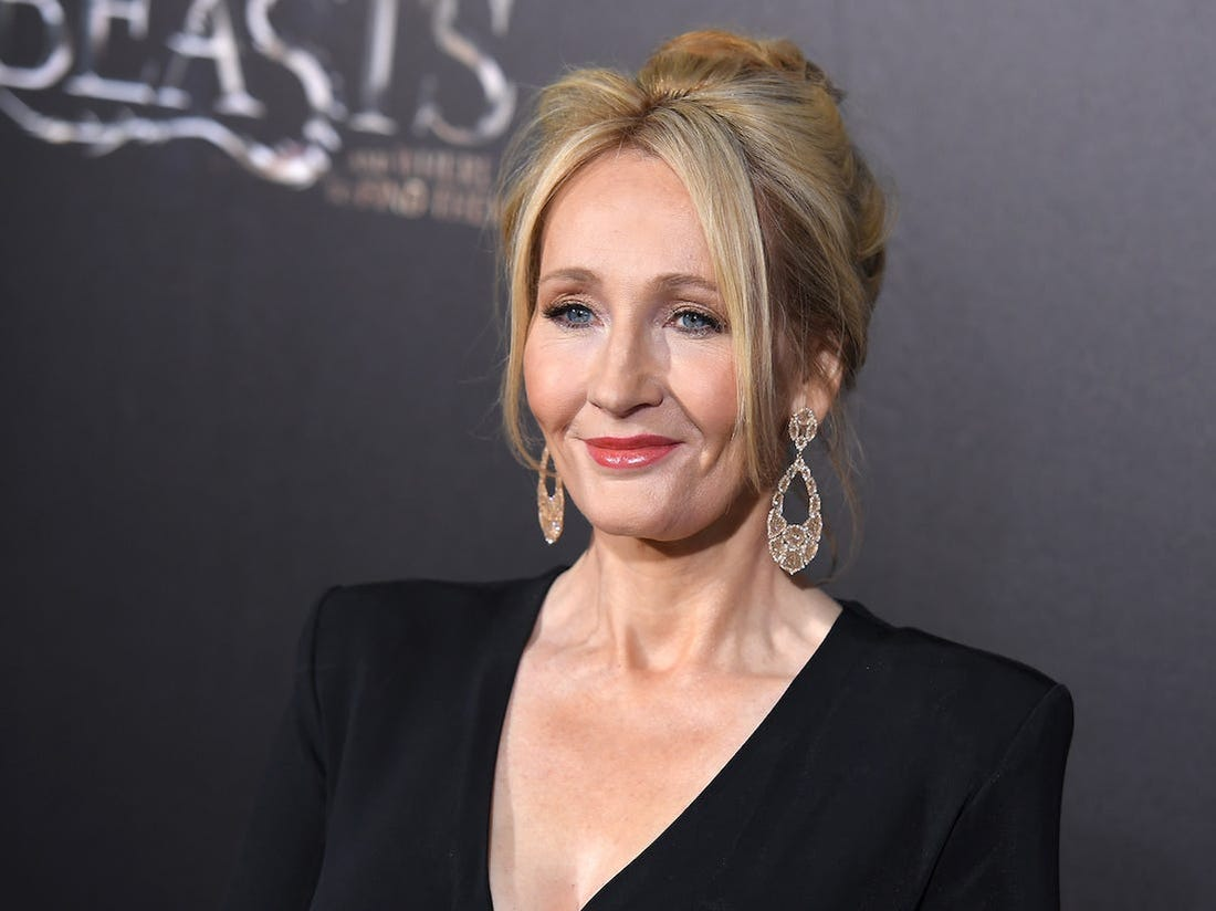 Rowling autrice di Harry Potter