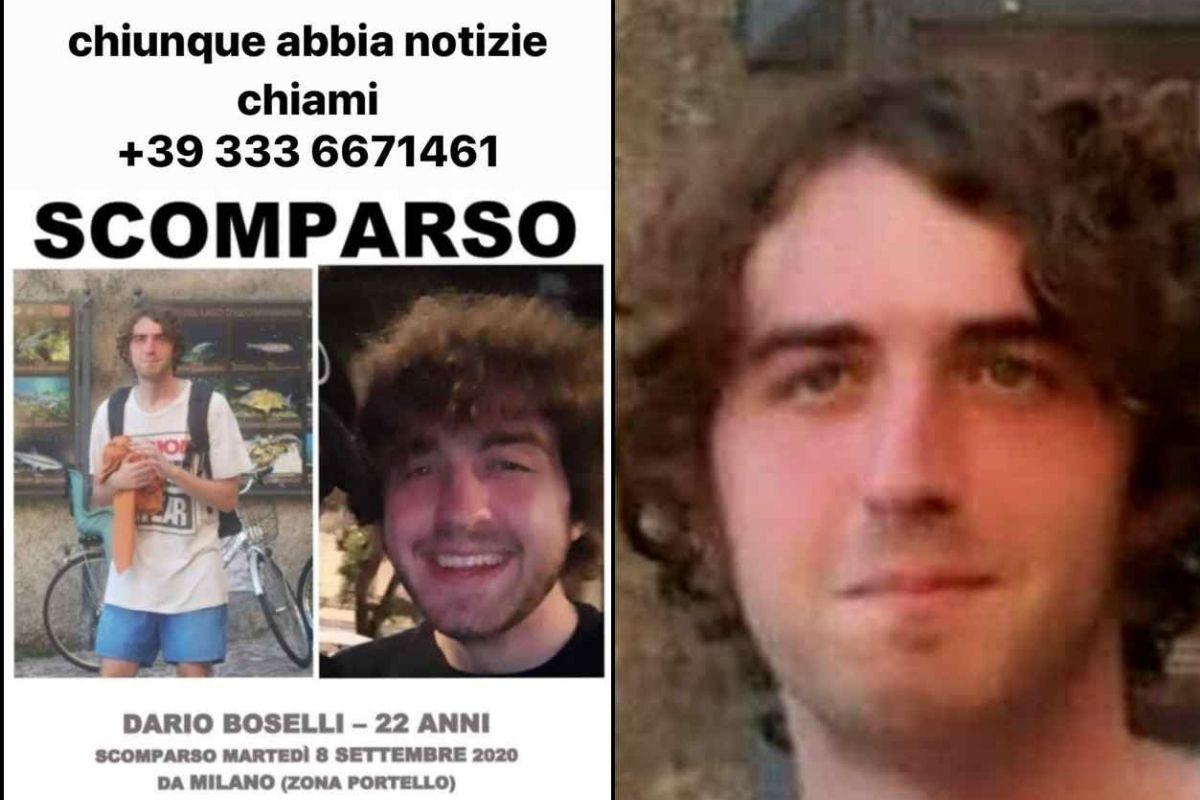 Dario Boselli scomparso