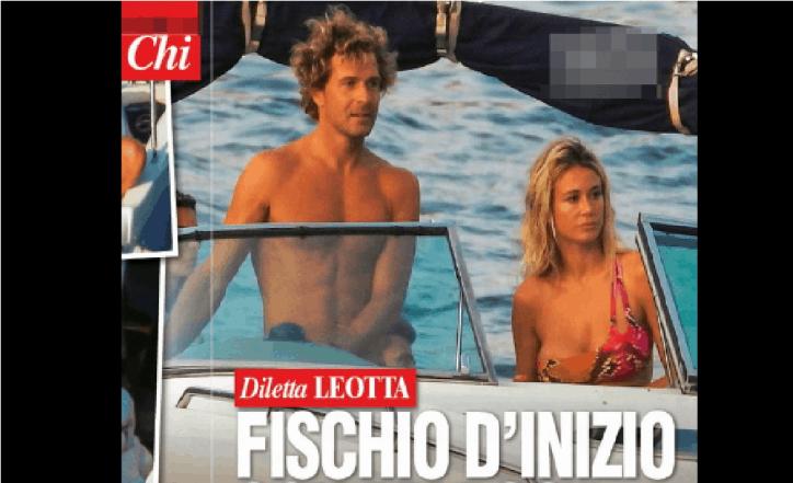 Diletta Leotta e Marco Valta