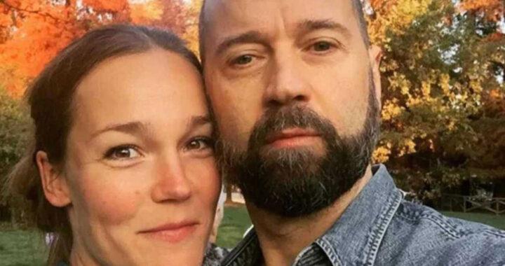 Fabio Volo e la moglie Johanna Maggy
