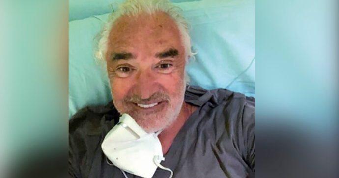 L'imprenditore ricoverato in ospedale