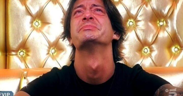 Francesco Oppini lacrime
