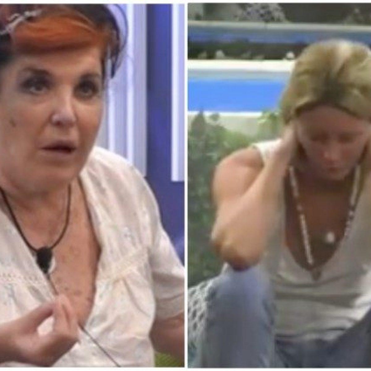 GF Vip Flavia Vento si ritira Patrizia De Black attacca