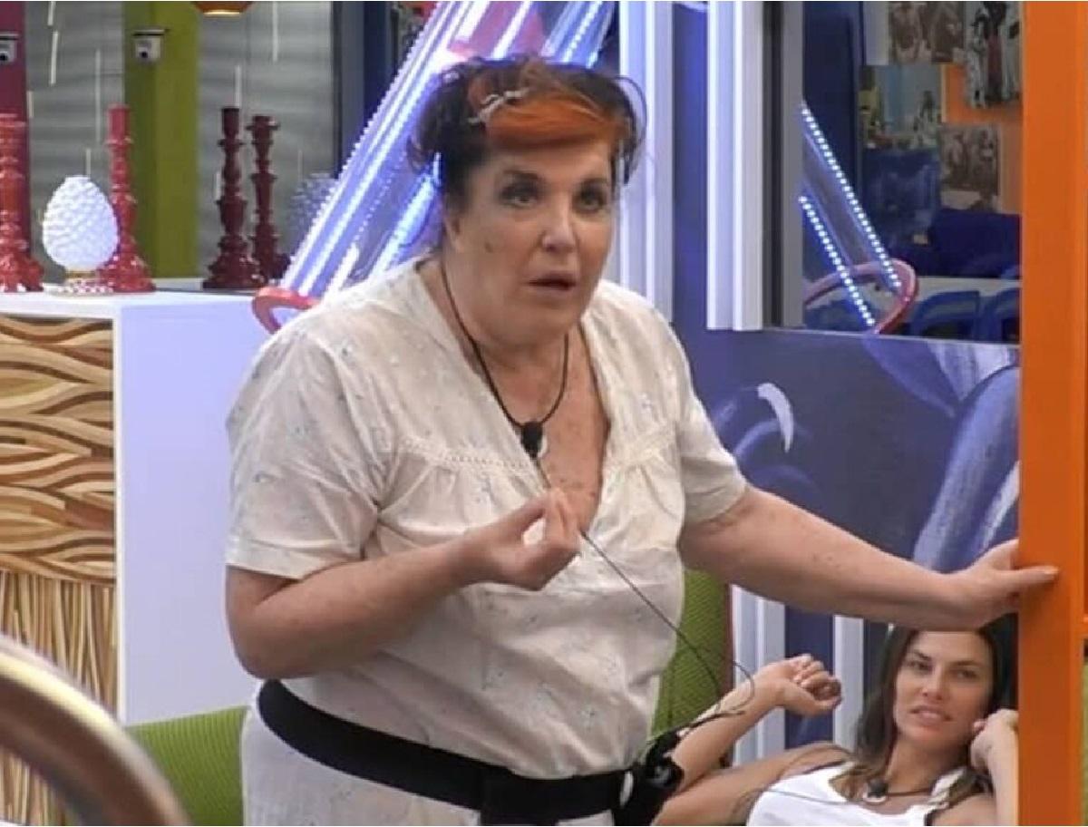 GF Vip Patrizia De Blanck perde le staffe