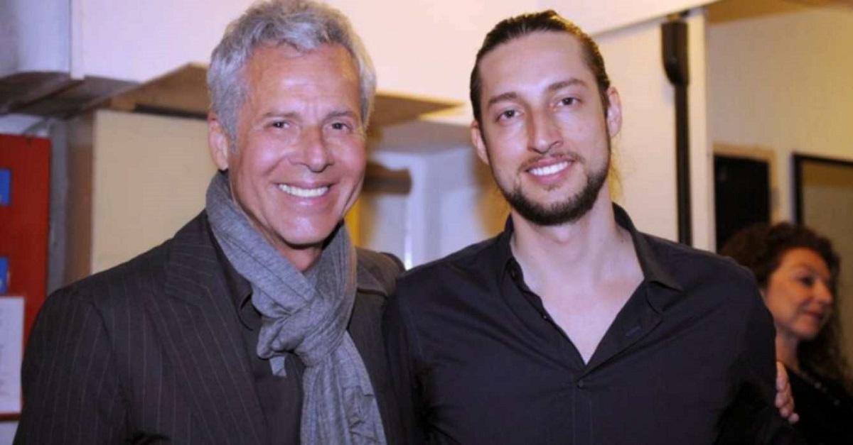 Claudio Baglioni e il figlio