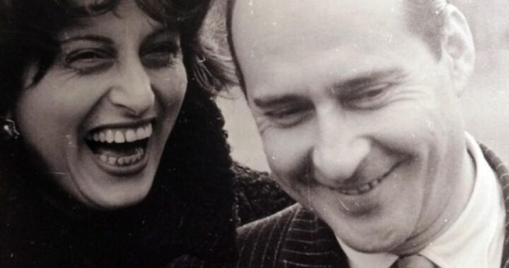 Goffredo Alessandrini e l'ex moglie