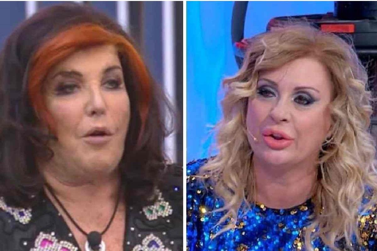 Grande Fratello Vip Patrizia De Blanck contro Tina