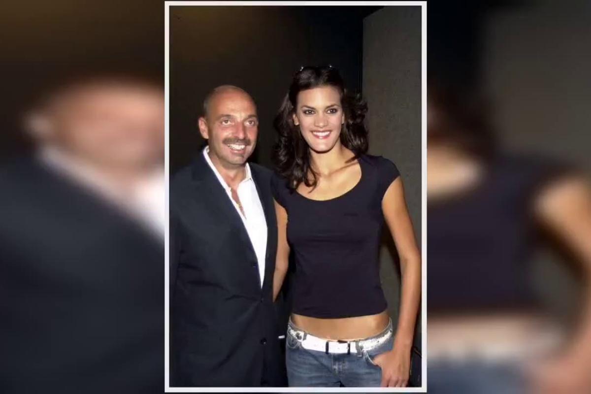 Paolo Brosio e l'ex moglie